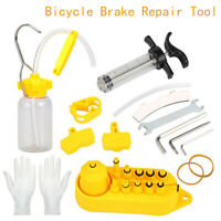 Hydraulic Bicycle BIke Disc Brake Oil Bleed Tool Kit For Shimano Tektro Magu ah