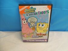 LIKE NEW NICKELODEON SPONGEBOB SQUAREPANTS THE SEACAPE CAPERS CHILDREN'S DVD