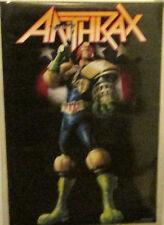 Anthrax Poster Rare New Poster 2006 Vintage Judge Dredd Im The Law