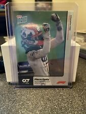 2020 Topps Now Formula 1 Pierre Gasly Secures First Victory at Monza Card #1 F1