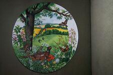 1987 Meadows & Wheatfields Bradford Exchange collectible Plate Zierteller TELLER