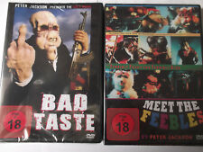 Bad Taste & Meet the Feebles - Peter Jackson, Aliens, Fastfood, Anarcho Comedy