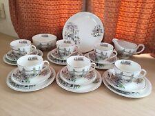 More details for alfred meakin london town design rare, vintage complete tea set. original marks