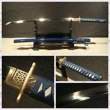 Handmade Japanese Samurai Sword 1095 High Carbon Steel Katana Sharp Blade#0211