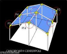 Baldachin Fassungen 3mx20 '6.1mx20' 1.9cm Glashaus, Schirm Spezial Ausverkauf