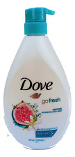 Dove Body Wash Go Fresh Renew Nourishing Body Wash 27oz Blue Fig Orange Blossom