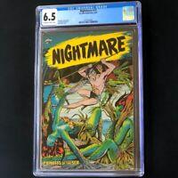 Nightmare #13 (St John 1954) 💥 CGC 6.5 💥 Matt Baker Cover! Golden Age Comic