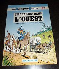 Salvérius - Les Tuniques Bleues 1 - Un chariot dans l'ouest - Dupuis