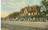 BOUND BROOK NJ – Central Railroad of New Jersey Station
