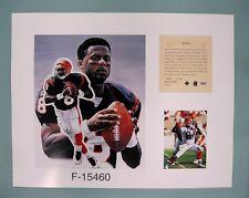 Jeff Blake Cincinnati Bengals 1996 NFL Football 11x14 Lithograph Print (scare)