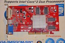 ATI Radeon 9550 128Mb VGA DVI S/VIDEO TV AGP Tested-tested working 100%