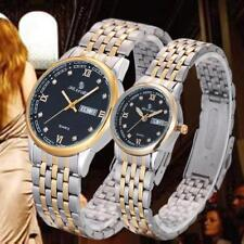1Pair Couples Crystal Rhinestone Watch