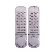 Borg Keyless Digital Lockset 2620 Satin Chrome Door Lock-Push Button-BL2620MGBCF