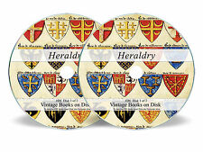 HERALDRY 300 Rare Books on DVD Family Crest History Coat of Arms Armorial Art D6