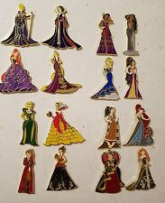 Disney Fantasy Pin Evil Beauties Series Complete set of 16  LE 75