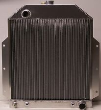 1949 1950 1951 1952 1953 ford truck with chevy motor v-8 aluminum radiator