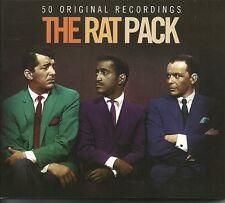 THE RAT PACK - 50 ORIGINAL RECORDINGS - 2 CD BOX SET
