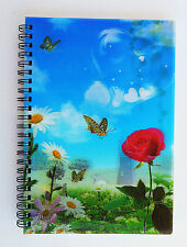 A5 Paper Notebook - 3D Holographic, 80 pages