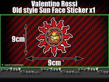Valentino Rossi Sun Sticker X1 Moto GP The Doctor Fumi 46 vale racing old style