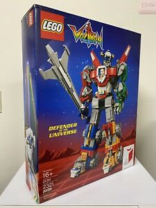 Lego Ideas Voltron 21311 RETIRED NEW FACTORY SEALED📦!  NIB!
