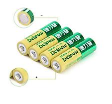 Delipow Rechargeable AA Batteries 1.2V Lithium 800mAh x4