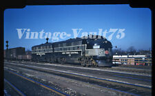 ORIGINAL SLIDE NYC 1859 NEW YORK CENTRAL FREIGHT SOUTH BEND IND KODACHROME 1952