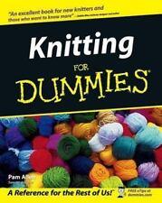 Knitting for Dummies by Cheryl Fall, Rich Tennant, Trisha Malcolm, Pam Allen, Go