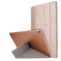 "For iPad Pro 10.5"" Deformation Flip Leather Smart Auto Wake/Sleep Stand PC Case"