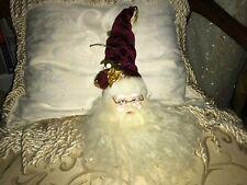 """16"""" Santa Claus Ornament with Hat - Porcelain"""