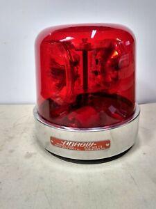 VINTAGE Arrow 530 Red Beacon Bubble, 2 - Bulb,  NOS Lenses Police Fire