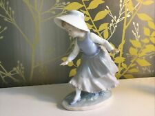 Noa Figure By Lladro Of A Young Girl