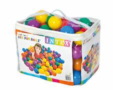 INTEX 49600 Bolas Colores Juego Niños Piscina Bola Plástico 100 PC Ø 8C