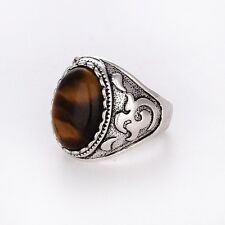 Men tigers eye RING Fashion Jewelry Size 10