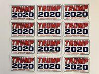 President Trump 2020 ...Keep America Great ! ...Vinyl Stickers ...50 Bulk Pack