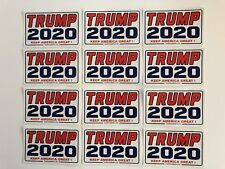 Trump 2020 ..Keep America Great ! ...Vinyl Stickers Decals  ..75 Piece Bulk Pack