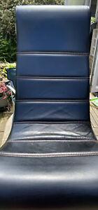 X ROCKER Floor Gaming Chair Foldable Portable Black 9v Power Supply