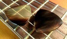 2 Zebu Horn Guitar Picks + Martin D18 D28 D35 D45 Strings Acoustic Guitar ART