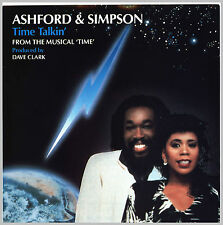 "TIME TALKIN´ Ashford & Simpson, Single 7"" Musical TIME by Dave Clark, Neuwertig"
