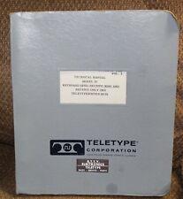 Teletype Model 35 Bulletin 281B Technical Manual - Vol 2