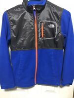 The North Face Boys Fleece Jacket Medium 10/12 Blue Mint Condition