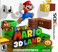 Nintendo 3DS Super Mario 3D Land - Original Release - Complete with Inserts