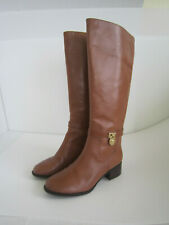 Michael Kors Boots Brown/Tan Luggage Hamilton Riding Boots- size 8