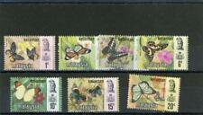 Malaya Kelantan Butterflies 1971 Scott# 98-104 mint NH