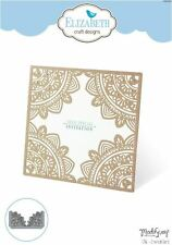Elizabeth Crafts Designs Cutting Die ~ ORIENTAL CARD  Filligree, Corners  ~1386