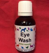 Cats Eye Wash Herbal Remedy Eye Infection Conjunctivitis Dogs Bird Small Animal