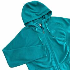 The North Face Womens Jacket Size Large L Mezzaluna Hoodie Teal