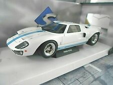 FORD GT40 GT 40 Racing Street V8 weiss white 1968 MKI Strassenmodell Solido 1:18