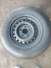 4 Stud 5.5 Trailer Spare Wheel and 8 Ply Tyre TRIDENT 175R13 Caravan