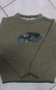 NWOT AMX 30 Boys Size 7 Truck Sweater