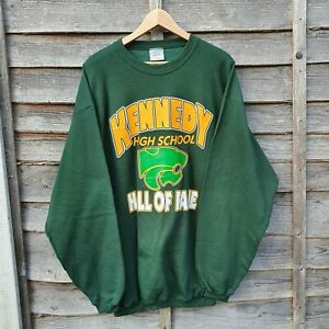 Vintage Spellout Heavyweight Oversized Sweatshirt. Made In USA